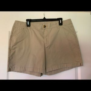 Lee mid rise shorts